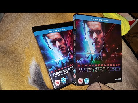 Terminator 2 Judgment Day 3D (UK) Blu-Ray Unboxing