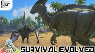 ARK: Survival Evolved - DINOSAURS! E1 ( Gameplay )