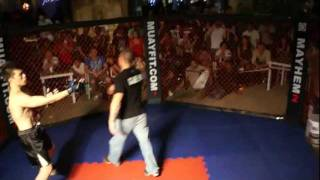 MMA VS WING CHUN in Malaysia Fight Challenge 3
