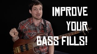 BECOME A PATRON: http://patreon.com/joshfossgreenI've heard (and personally performed) many clumsy bass fills in my day. In today's lesson I'll share a quick tip to help you avoid this common bass fill problem - ending your fills too early!In a mad scramble to get back to the bass line we're supposed to be playing, bass players often cut off their fills too soon, which creates an awkward moment in the tension-release cycle of the bass line. We create tension with the fill, release the tension too early, and then flatline for a beat or two until the bass line comes back in.This structure isn't always bad, but when done habitually and unconsciously, it tends to create results that aren't much fun to play or listen to. In this lesson I'll demonstrate a few improvised fills that end too early, and then play with correcting the issue. See if you can hear the difference in the resolution point, and how nice it can feel for a fill to keep the flow running right into beat 1 of your bass line.Check out my complete step-by-step beginner course: http://joshfossgreen.com/b2bJosh Fossgreen is endorsed by TC Electronic and Hipshothttp://tcelectronic.com/http://www.hipshotproducts.com/