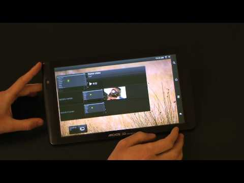 Archos Tablet 101 – tablet.bg  (English Full HD Review)