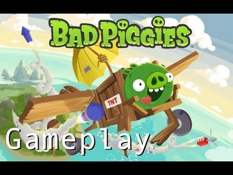 Bad Piggies - Gameplay Part 1 Ground Hog Day