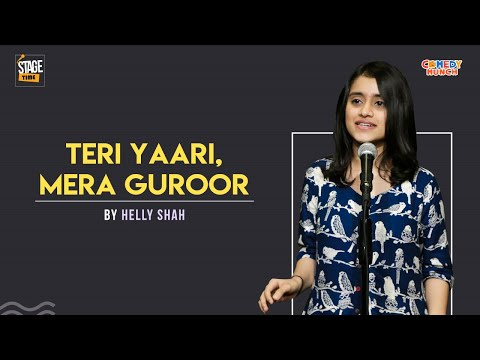Teri Yaari, Mera Guroor - Slam Poetry By Helly Shah | Stagetime
