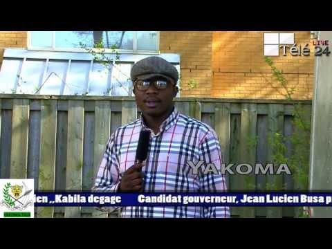 TÉLÉ 24 LIVE: YAKOMA, très fâché contre les Combattants de TORONTO suite au Sorcellerie et manque d'amour dans la resistance