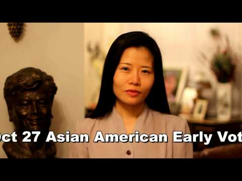 Voice your Vote, Oct 27, 2012 – Asian American Early Voting Day