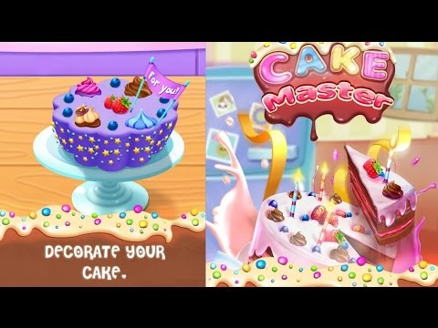 Cake Master Cooking / Wedding Cakes / Delicious Cake / Birthday Cake / Cook Delicious Games