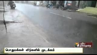 Impact of rain in Puduchery and Karaikkal
