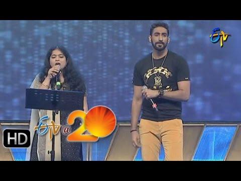 Karunya-Usha-Performance--Dole-Dole-Song-in-Gunturu-ETV-20-Celebrations