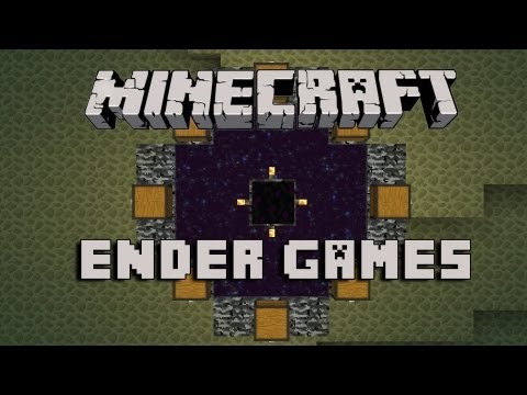 Minecraft ENDER GAMES Parkour Map w/ Bajan Canadian and HuskyMudkipz