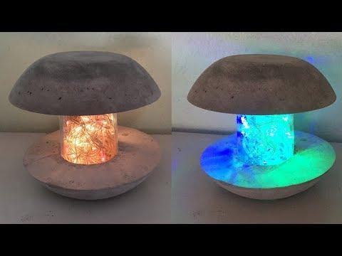 Download Betonlampe Diy How To Make Concrete Lamp Cement Decoration
