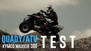 8. Kymco Maxxer 300 Kupujemy Pierwszego Quada. Test Ride & Review. Jakiego Atv Kupić? motobanda.pl