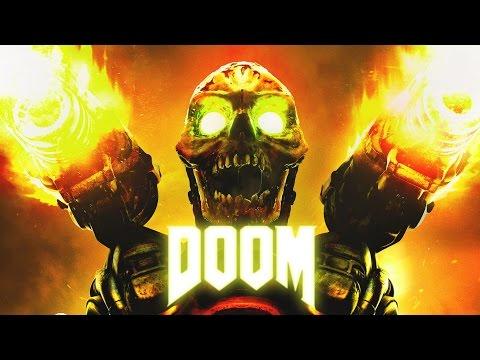 Бодрое начало игры - DOOM прохождение на стриме #1