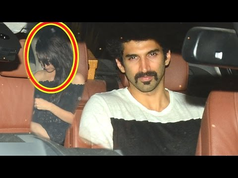 Shraddha Kapoor And Aditya Roy Kapur Snapped Late