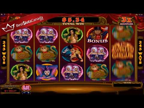 The Twisted Circus Slot - Bonus Mega Big Win - BestSlotsCanada.com