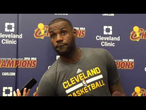 LeBron James on J.R. Smith's contract situation