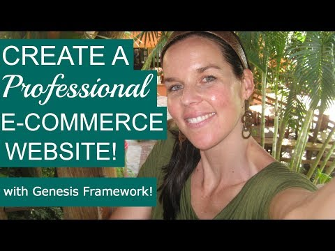 Create An Online Store with WordPress & Genesis 2014 | Create A Website | Beginners Tutorial