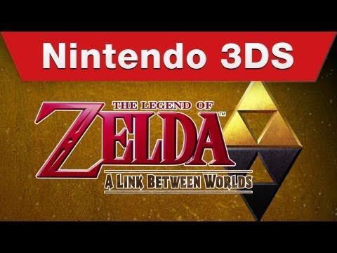 The Legend of Zelda: A Link Between Worlds E3 Trailer