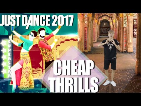 🌟  Just Dance 2017: Cheap Thrills (Bollywood Version)- SuperStar | Just Dance 2017 Real Dancer 🌟