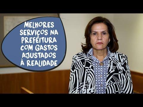 Ilce Rocha: orçamento da prefeitura ajustado à realidade
