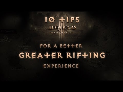Diablo 3 RoS 2.1 - 10 Tips on how to optimize your Greater Rift Experience