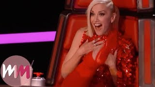 Video Top 10 The Voice (U.S.) 4-Chair Turns MP3, 3GP, MP4, WEBM, AVI, FLV Juni 2018