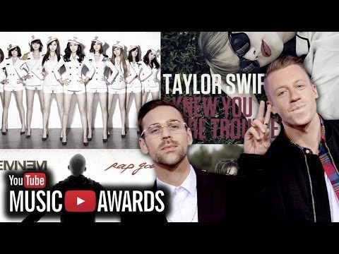 Eminem, Taylor Swift, Girls' Generation Win YouTube Music Awards 2013 Highlights!