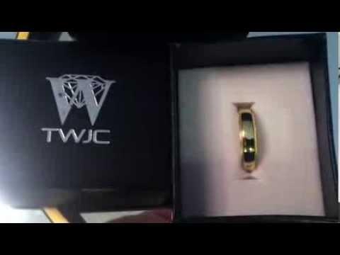 Mens 14K Yellow Gold 5mm Plain Milgrain Wedding Band Ring Size 10.5 COMFORT FIT