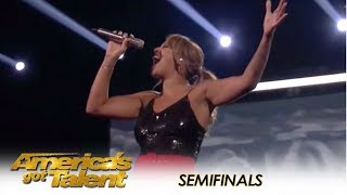 Video Glennis Grace: Nederlandse zanger levert ENORME halve finale prestatie! | America's Got Talent 2018 MP3, 3GP, MP4, WEBM, AVI, FLV September 2018