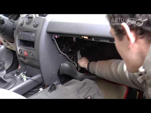 Рено меган 2 замена салонного воздушного фильтра фото