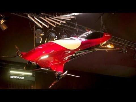 Renndrohne mit Pilot: Formel 1 in der Luft