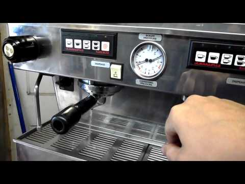 La Marzocco Linea 3 Group Commercial Espresso Machine Test Use and Function