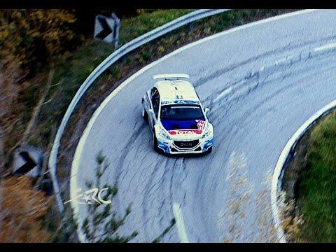Vídeo mejores momentos etapa 2 ERC Rallye International du Valais 2015