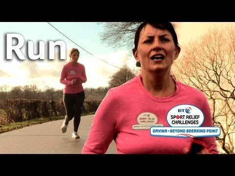 Davina Running Training | Beyond Breaking Point