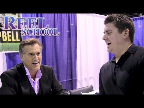 BRUCE CAMPBELL talks Sam Raimi & 'Oz the Great and Powerful'