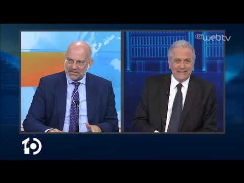 O Δήμητρης Αβραμόπουλος καλεσμένος στο «10» | 27/04/2020 | ΕΡΤ