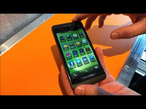 BlackBerry Z10 - hands-on
