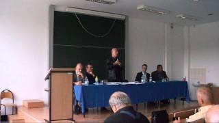 Leszek Żebrowski - konferencja naukowa