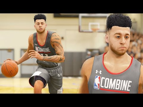 NBA LIVE 18 Career Mode - Draft Combine + NBA Draft!!! (видео)