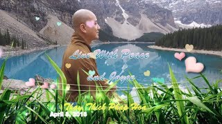 Live With Peace and Joyce - Thay. Thich Phap Hoa (Apr.8, 2018)