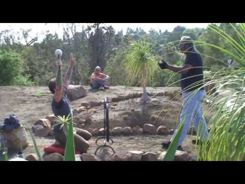 Medicine Wheel Healing Gong Ceremony Alta Vista Botanical Gardens Bryan Morse 39 S Blog