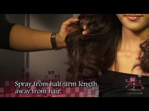 party hairstyle - For more videos on hairstyling and makeup, please visit http://www.myfatpocket.com.