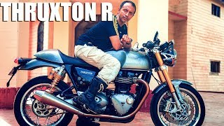 1. Want to buy the Triumph Thruxton R watch this first || Krishnendu Bike Review