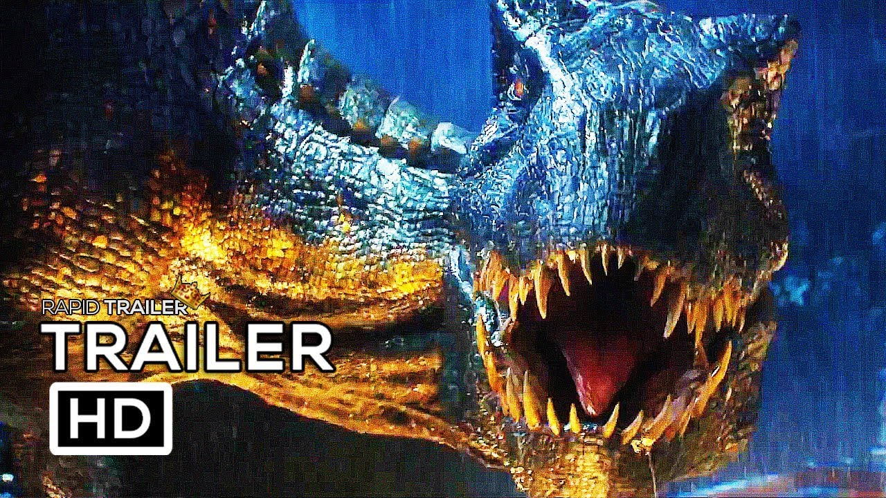 JURASSIC WORLD 2 Trailer #3 Teaser NEW (2018) Chris Pratt Fallen Kingdom Dinosaur Movie HD