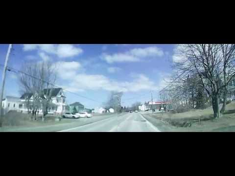 Driving in Nova Scotia: Saint Martin, Meteghan Center, Meteghan - Spring 2013