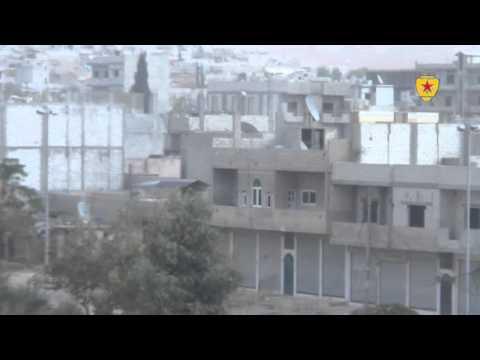 YPG Kobane'de çetelere ağır darbe vurdu-VİDEO 2
