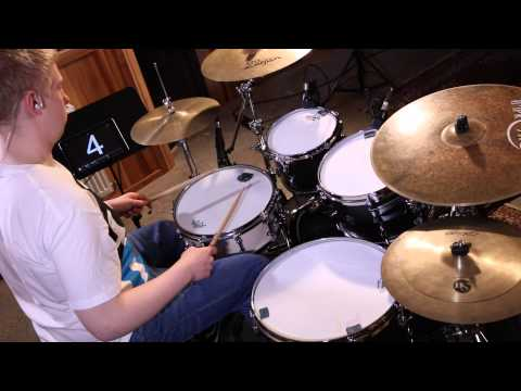 Aaron Spears Drum Lick Lesson