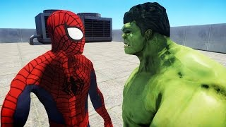 Video ULTIMATE SPIDERMAN VS THE INCREDIBLE HULK MP3, 3GP, MP4, WEBM, AVI, FLV Juni 2018