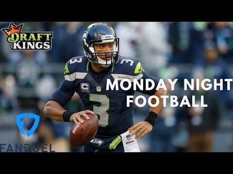 DRAFTKINGS MONDAY NIGHT FOOTBALL SHOWDOWN SLATE NFL WEEK 13 2019 | VIKINGS @ SEAHAWKS