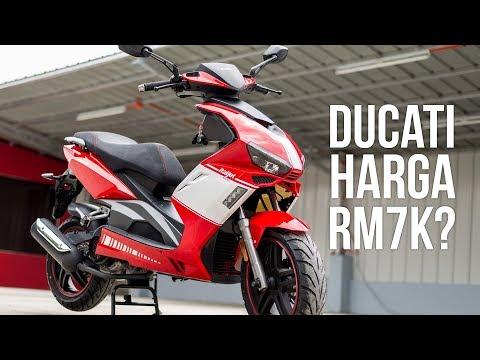 Skuter Design Ducati? | CMC Italjet 125 | Test Ride & Pendapat aku | #nasirharismotovlog