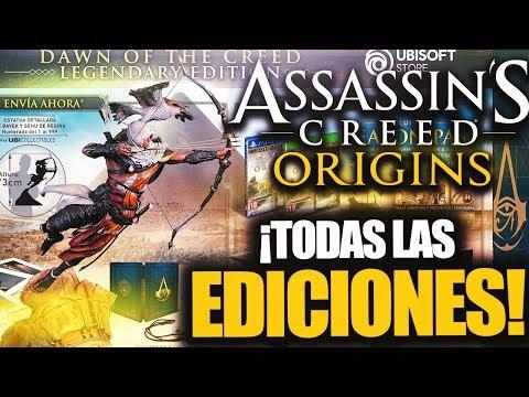 ¡EDICIONES y PRECIO Assassin's Creed ORIGINS! - RAFITI (видео)